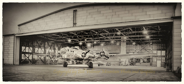 "The B-17 bomber nicknamed ""Sentimental Journey"" became the first B-17 to return to the hanger at Madras Airport since it was the ""Madras Army Airfield"" during WW II. Madras Airfield was a training base for B-17 Bombers."