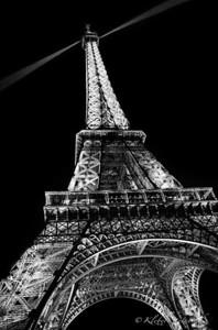Torre Eiffel n.01 - B&W