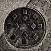 Manhole Cover, Burch Cop, Crestline, Ohio