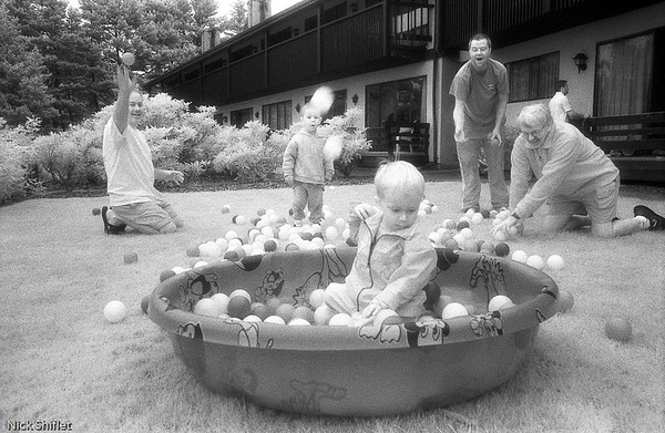 Infrared Photography of Children by Nick Shiflet
