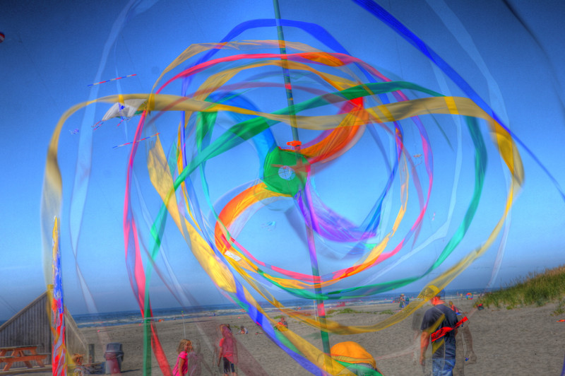Long Beach Kite Festival 2011, Fort Canby, Cape Disappointment in HDR. by Nick Shiflet
