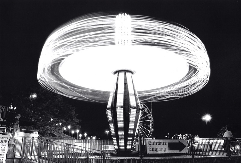 Turbo blaster wanted light in motion shot on black and white film