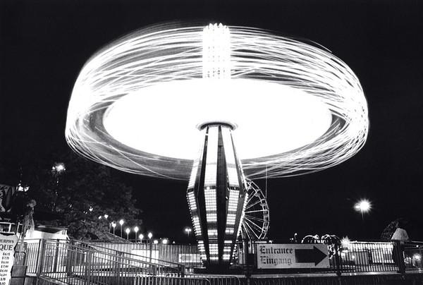 NIght Light Rides at the Puyallup Fair