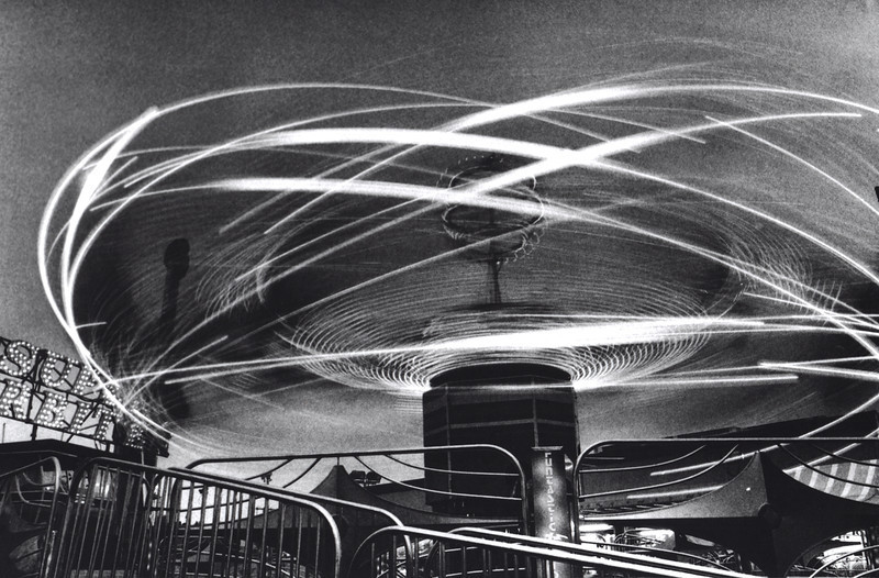 ATOMIC. capturing particles with time exposures at night, at the Puyallup Fair, by Nick SHiflet