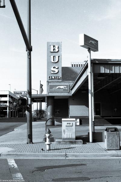 Bus Station on Edwards St.