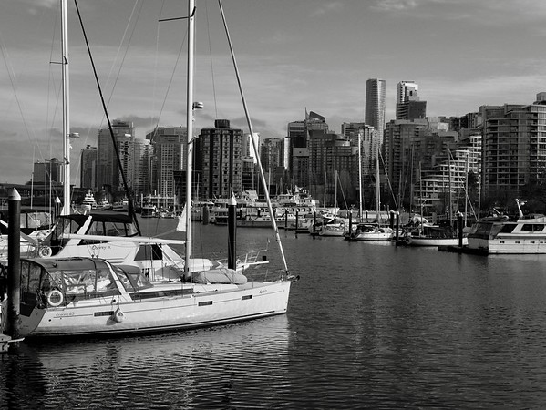 Boats At Coal Harbour