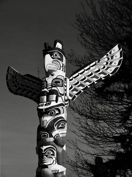 Totem Pole In Morning Light