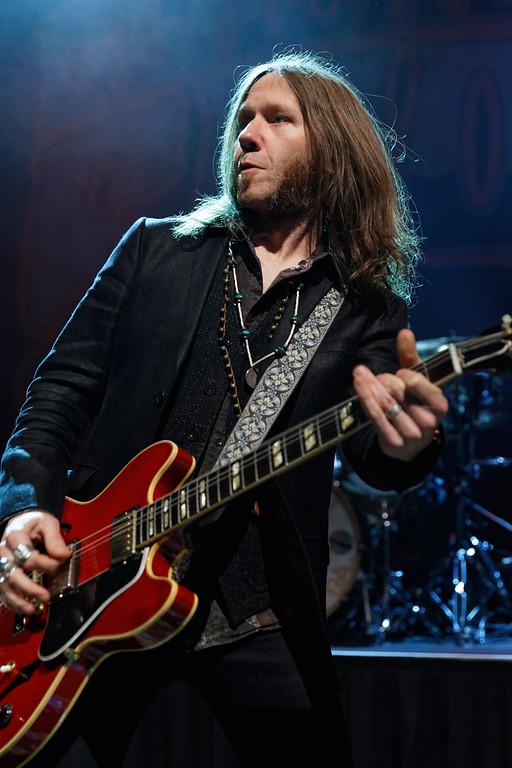 . Blackberry Smoke live at Fillmore Detroit on 3-10-18.  Photo credit: Ken Settle
