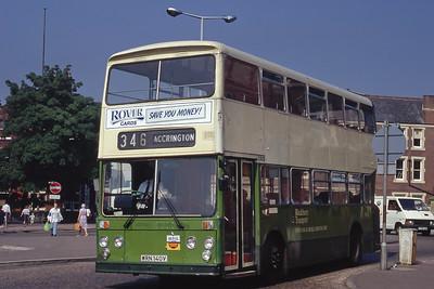 Blackburn 140 Blackburn Bus Stn Sep 91