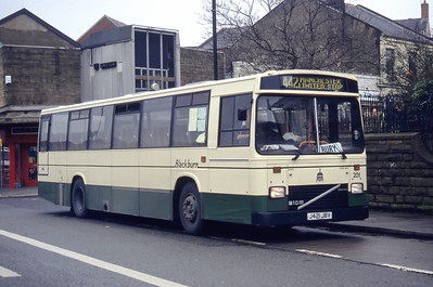 Blackburn 421 Accrington Bus Station Mar 94
