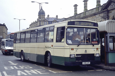 Blackburn 203 Accrington Bus Station Mar 94