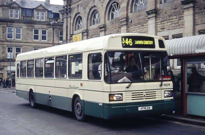 Blackburn 424 Accrington Bus Station Mar 94