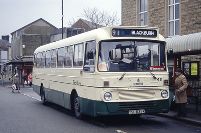 Blackburn 411 Accrington Bus Station Mar 94