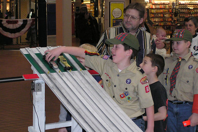 Pinewood Derby - 1/21/2006