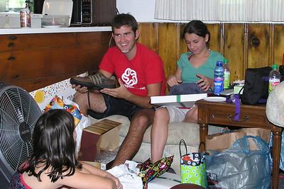 September 2006 Birthdays at the Cabin