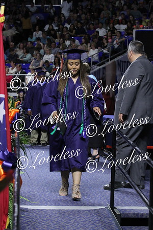GRADUATION 2018- Coming Off Stage