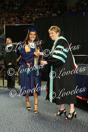 GRADUATION 2018- Receiving Diplomas