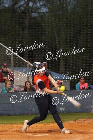 Softball vs Siegel 4/27/18
