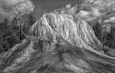 Orange Spring Mound in B/W