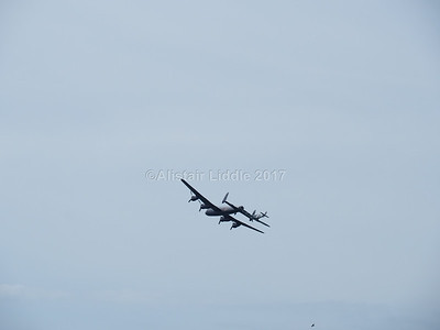 Battle of Britain Memorial Flight Lancaster and Spitfire (6)