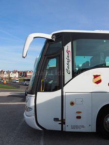 McCreadies Coaches, Airdrie MAN 18.360 Noge Catalan Star MN09 DZT new to Kings Ferry, badging