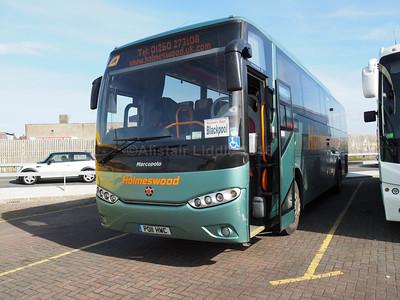 Holmswood Coaches, Ormskirk Irisbus Eurorider Marco Polo Viaggio 3 PO11 HWC (1)