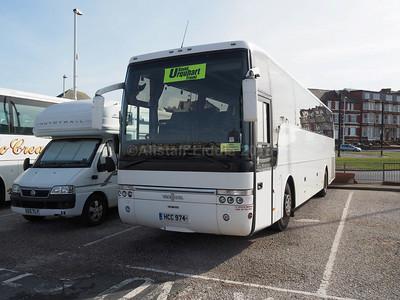 Harrington Coaches, Stoke-on-Trent Neoplan Cityliner S39 YKE legal lettering