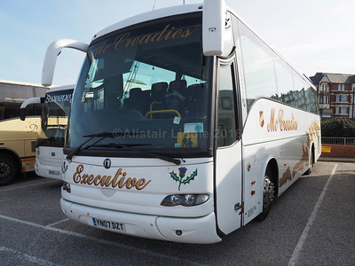 McCreadies Coaches, Airdrie MAN 18.360 Noge Catalan Star MN09 DZT new to Kings Ferry (1)