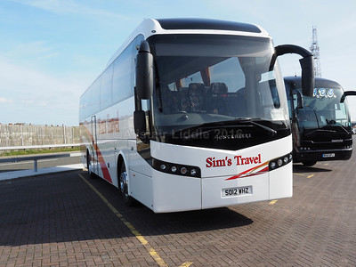 Sim's Travel, Boot, Cumbria Volvo B9R Jonckheere SHV SO12 WHZ new to Parks of Hamilton (2)