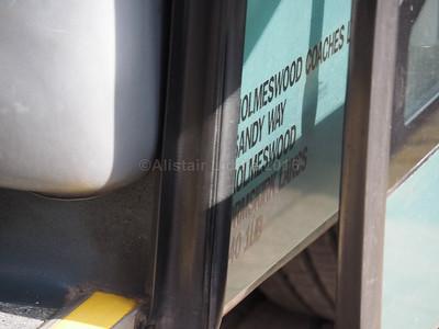 Holmswood Coaches, Ormskirk Irisbus Eurorider Marco Polo Viaggio 3 PO11 HWC legal lettering