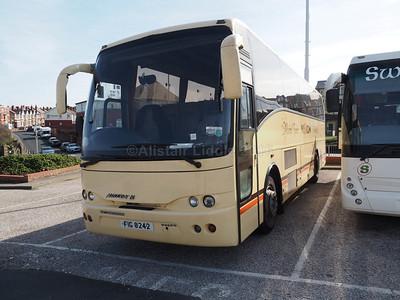Vision Travel, Linlithgow Volvo B10M Jonckheere Mistral 50 FIG 8242 (1)