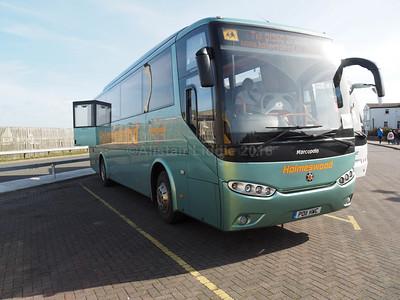 Holmswood Coaches, Ormskirk Irisbus Eurorider Marco Polo Viaggio 3 PO11 HWC (2)
