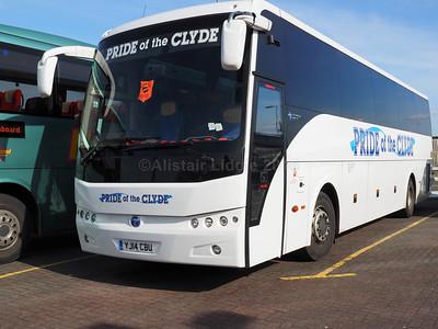 Pride of the Clyde, Greenock Temsa Safari HD YJ14 CBU (1)