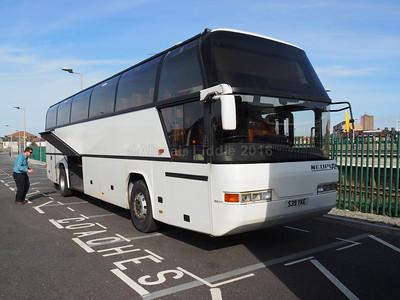 Harrington Coaches, Stoke-on-Trent Neoplan Cityliner S39 YKE (1)