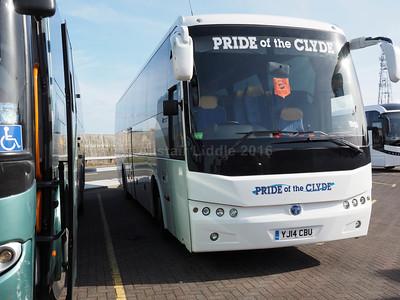 Pride of the Clyde, Greenock Temsa Safari HD YJ14 CBU (2)