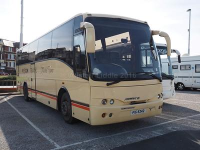 Vision Travel, Linlithgow Volvo B10M Jonckheere Mistral 50 FIG 8242 (2)