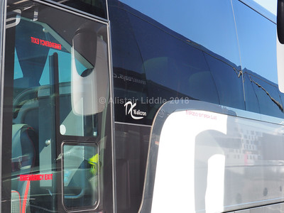 Reays of Wigton Van Hool TX16 Alicron YJ13 GYS badging