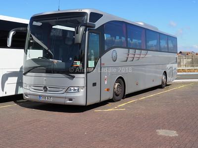 Fare Deal Holidays, Wednesbury Mercedes-Benz Tourismo EV09 BUS