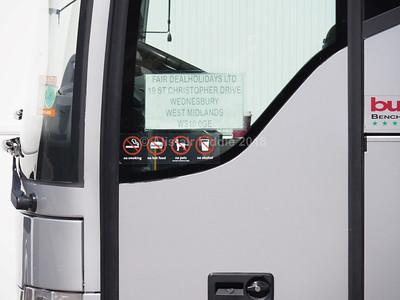 Fare Deal Holidays, Wednesbury Mercedes-Benz Tourismo EV09 BUS legal lettering
