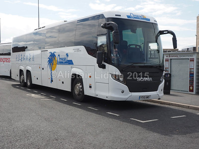 Omega Travel, Miton Keynes Scania Touring Higer YT15 AWO