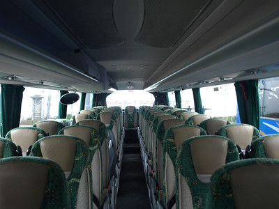 Johnson Bros., Worksop DAF Irizar i6 123 RT interior looking towards rear (1)