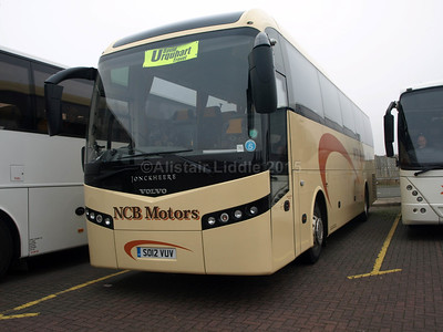 NCB Motors, Wem Volvo B9R Jonckheere SHV SO12 VUV new to Parks of Hamilton