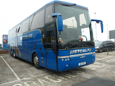 Metcalfe Coaches, Carlisle DAF SB4000 Van Hool T916 Alicron 167 CPF (1)