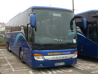 Blackpool Coach Parks 01-11-2015