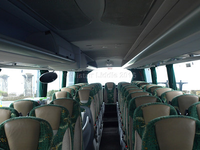 Johnson Bros., Worksop DAF Irizar i6 123 RT interior looking towards rear (2)