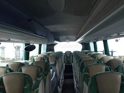 Johnson Bros., Worksop DAF Irizar i6 123 RT interior looking towards rear (2)