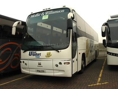 Moffat & Williamson, Newport on Tay Volvo B12B Plaxton Paragon FSU 371