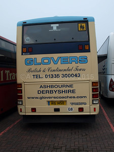 Glovers of Asbourne Volvo B10M Plaxton Excaliber AIG 1450 (3)