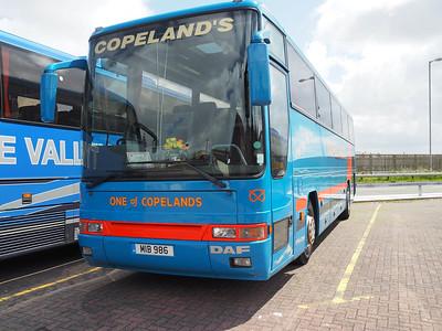 Copeland's, Stoke-on-Tent DAF SB3000 Plaxton Premiere MIB 986 (1)