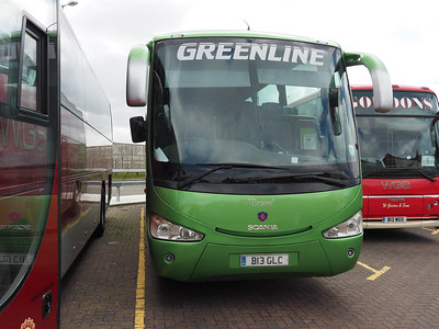 Greenline Coaches, Stourbridge Scania K340EB4 Irizar Century B13 GLC (2)